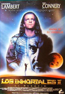 Los inmortales II. El desafío, Russel Mulcahy, Christopher Lambert, Sean Connery, Michael Ironside