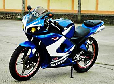 Modifikasi Motor Thunder 125 Fairing Yamaha R6