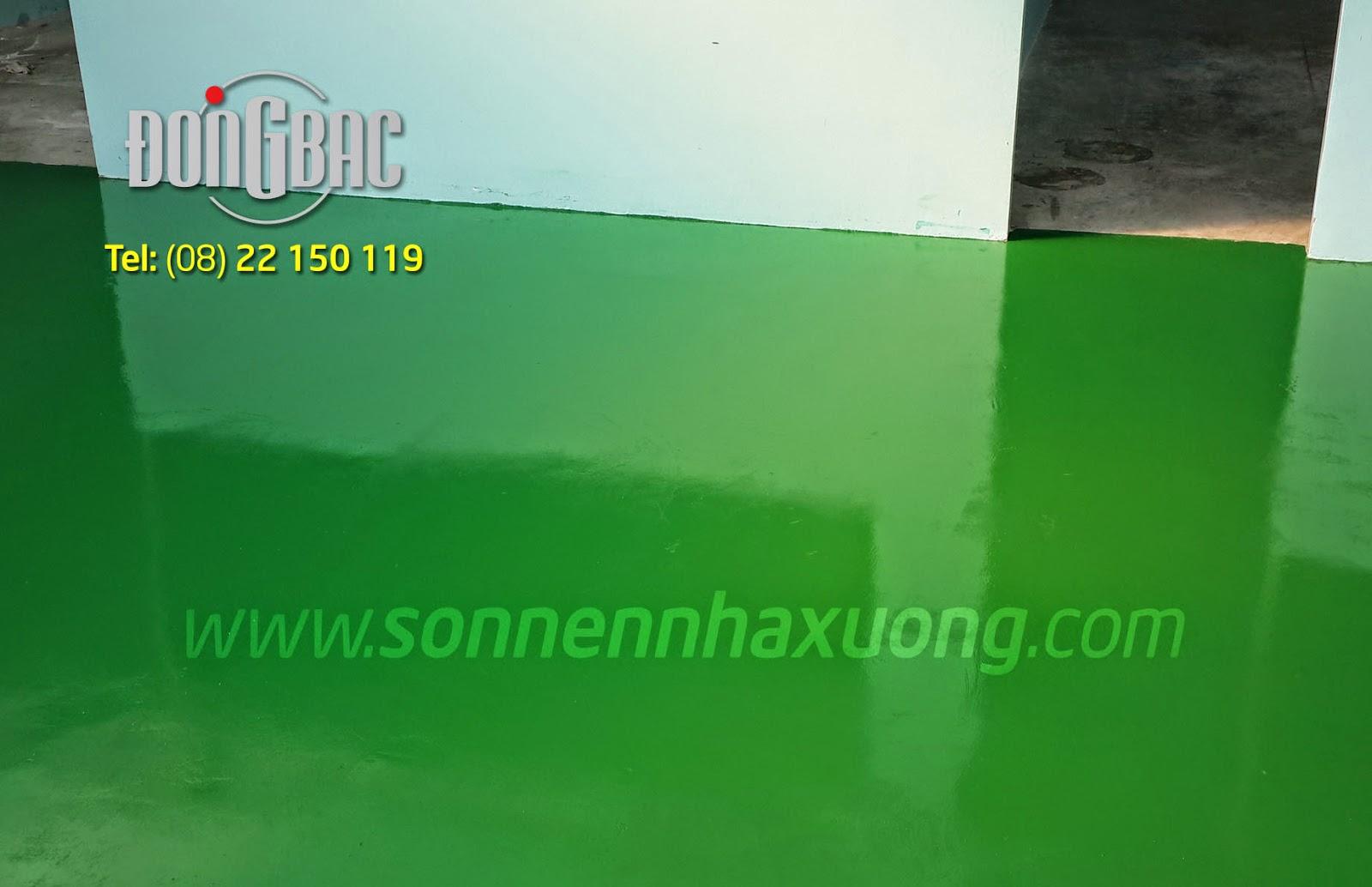 Cung cấp sơn nền epoxy giá rẻ tphcm