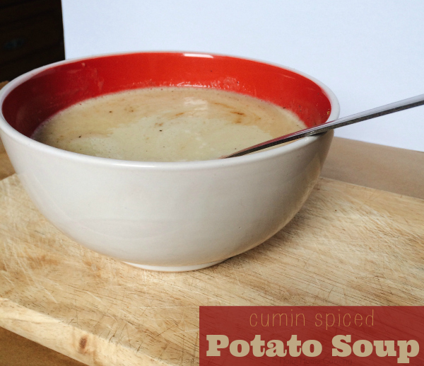 cumin spiced potato soup recipe