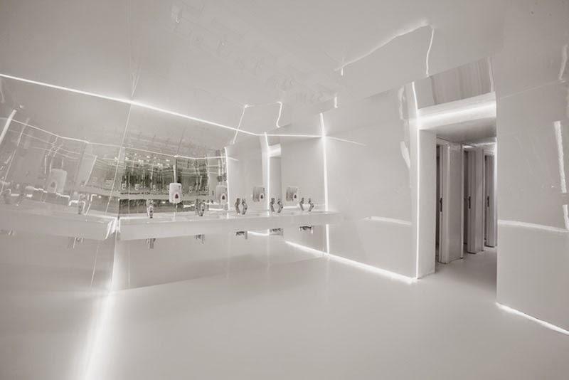 mejores diseños de interiores de bares y restaurantes del mundo, Night Flight