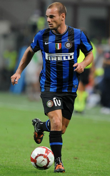 Manchester United Transfer News Wesley Sniejder Inter Milan Midfielder