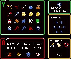 Link between worlds empty item slots