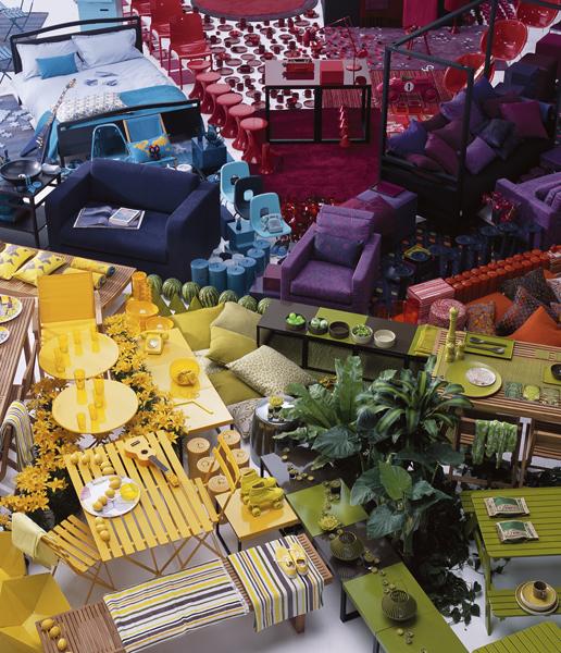 11 Best Missonihome Artifort Images On Pinterest: 47 Park Avenue: Colour Blocking For The Home?