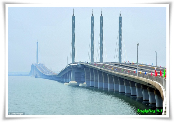 Logistics4 1 World 39 S Longest Sea Bridge In China