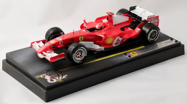 El F1 Hot Wheels de Michael Schumacher