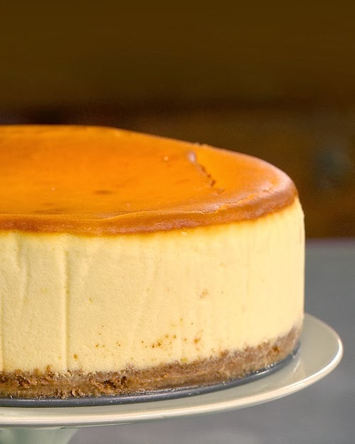 One Cheesecake, Two Cheesecakes, Three Cheesecakes Recipe — Dishmaps