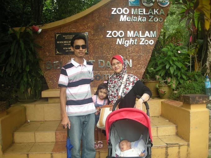 Jalan-jalan ke Zoo Melaka