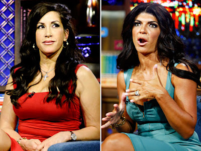 Jacqueline Laurita and Teresa Giudice Real Housewives of New Jersey