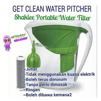 Penapis air yang murah dan berkualiti tinggi dan portable untuk travel dan selamat diminum terus selepas ditapis, selesaikan masalah air kotor dirumah.
