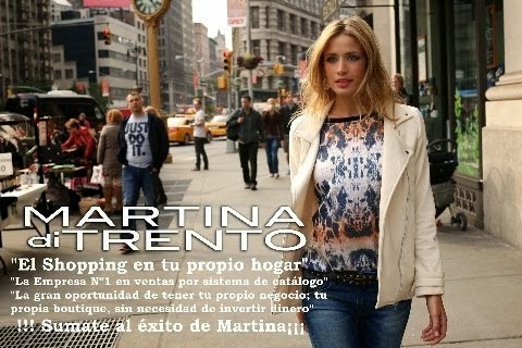 MARTINA DI TRENTO - CATALOGO VIRTUAL - PEDIDOS ON LINE - INFORMACION GENERAL - EMPRESA - MENDOZA.