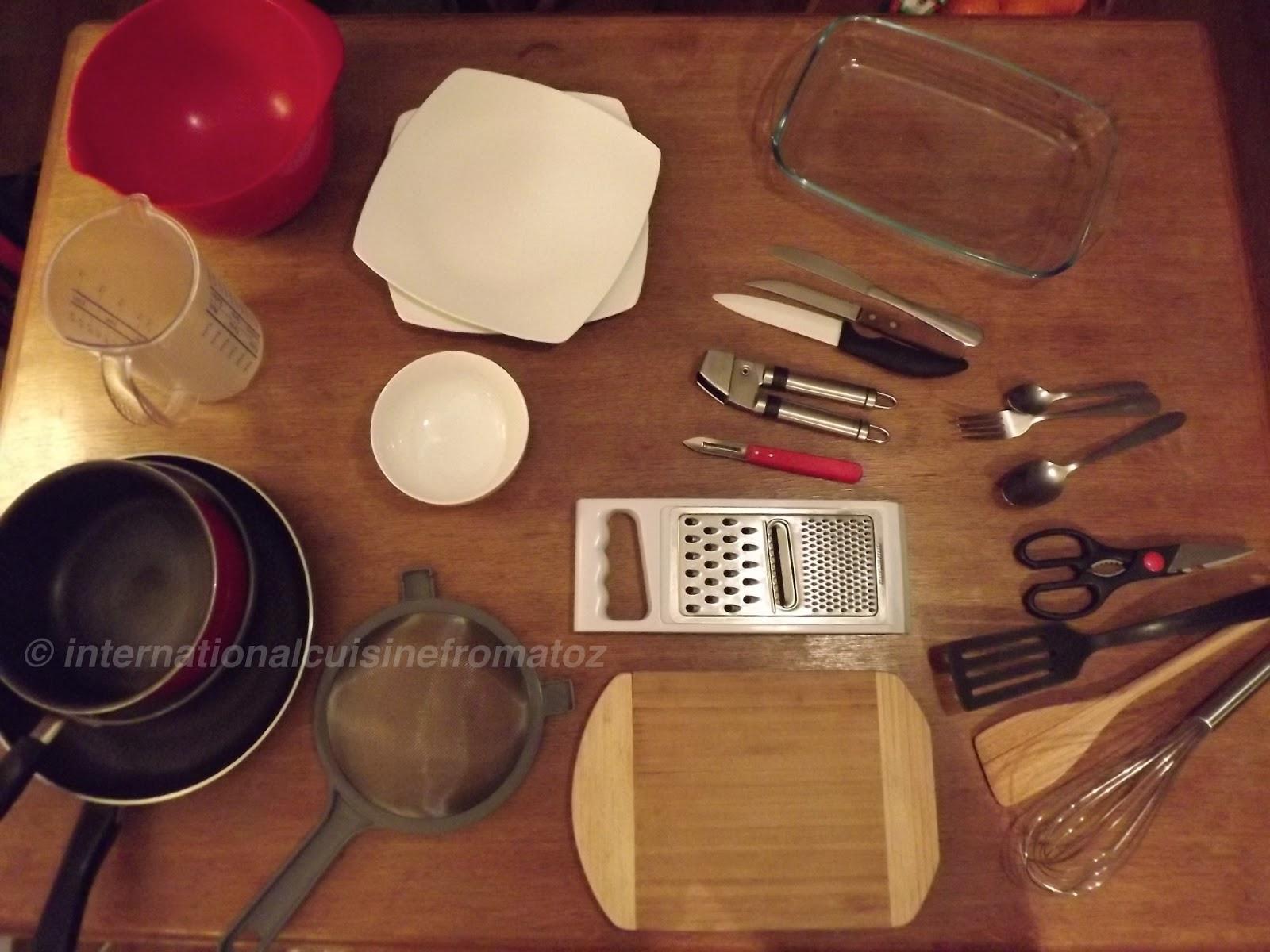 Cuisine instruments de base international cuisine for - Instrument de cuisine ...
