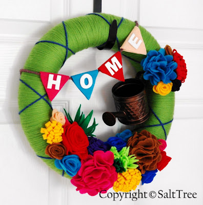 spring wreath