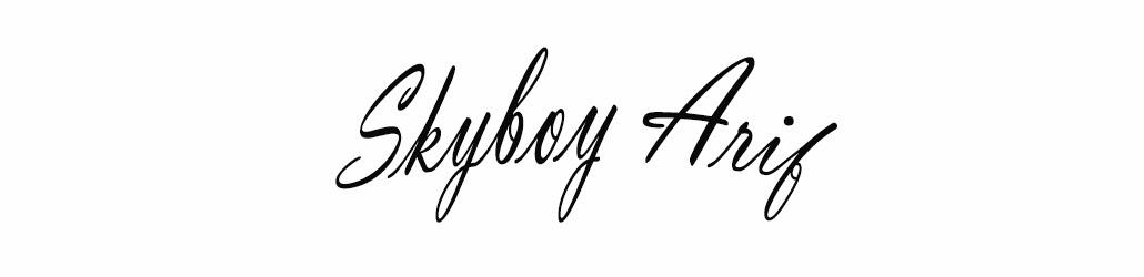 skyBoY aRiF