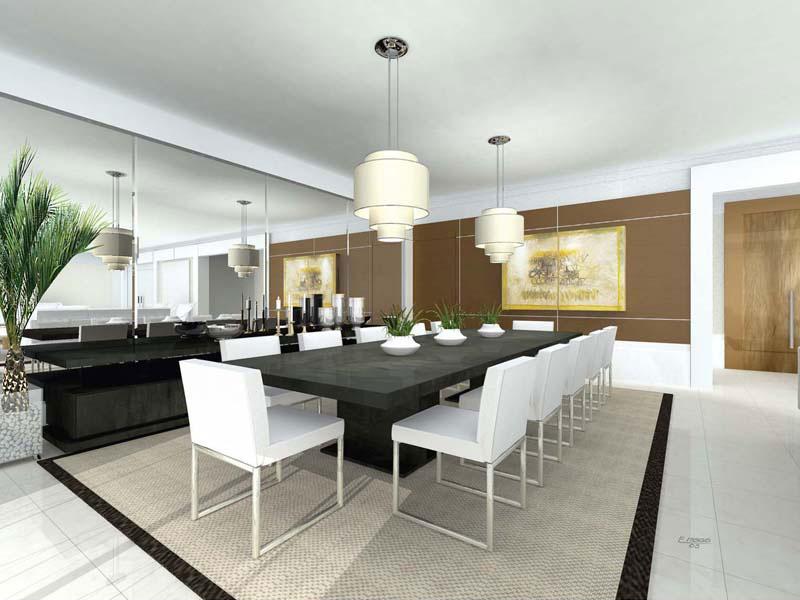 Sala De Jantar Branca De Luxo ~ Inspirações para sala de jantar de luxo  Realizando um Sonho