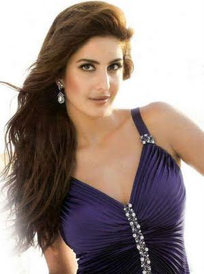 Katrina Kaif pics in blue dress