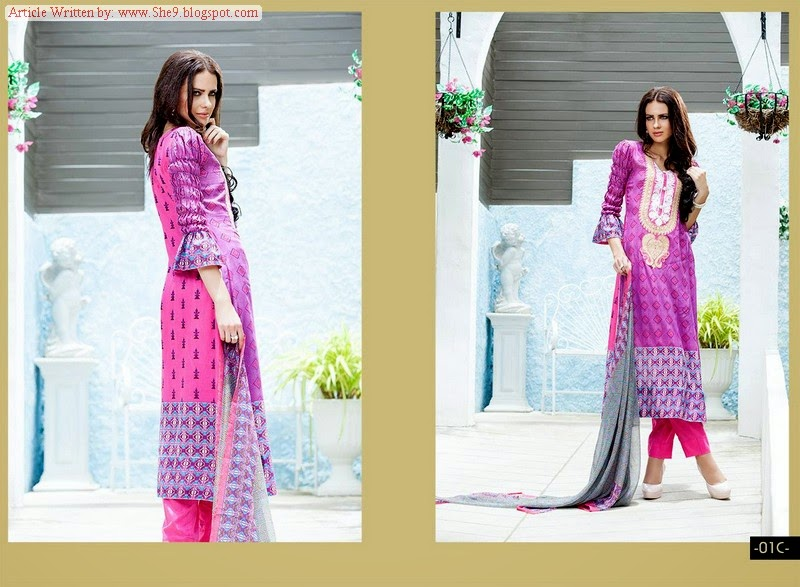 Shariq Textile's Libas Embroidered Midsummer Collection-14