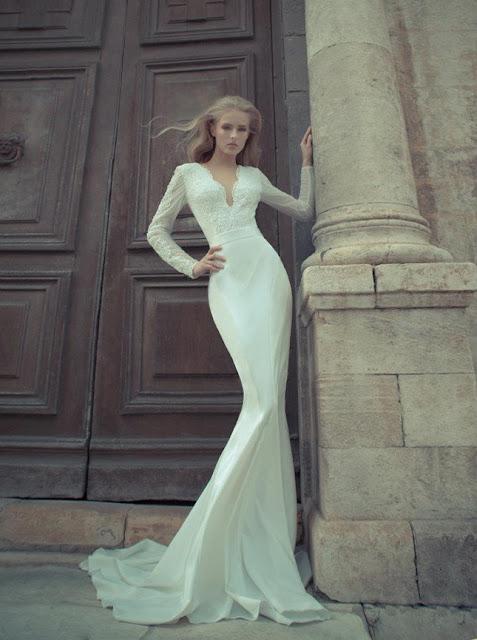 vestidos de novia minimalistas sencillos yaki ravid