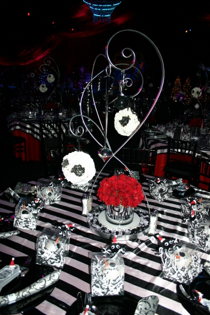 Studio B Event Designs The Nightmare Before Christmas Holiday Party