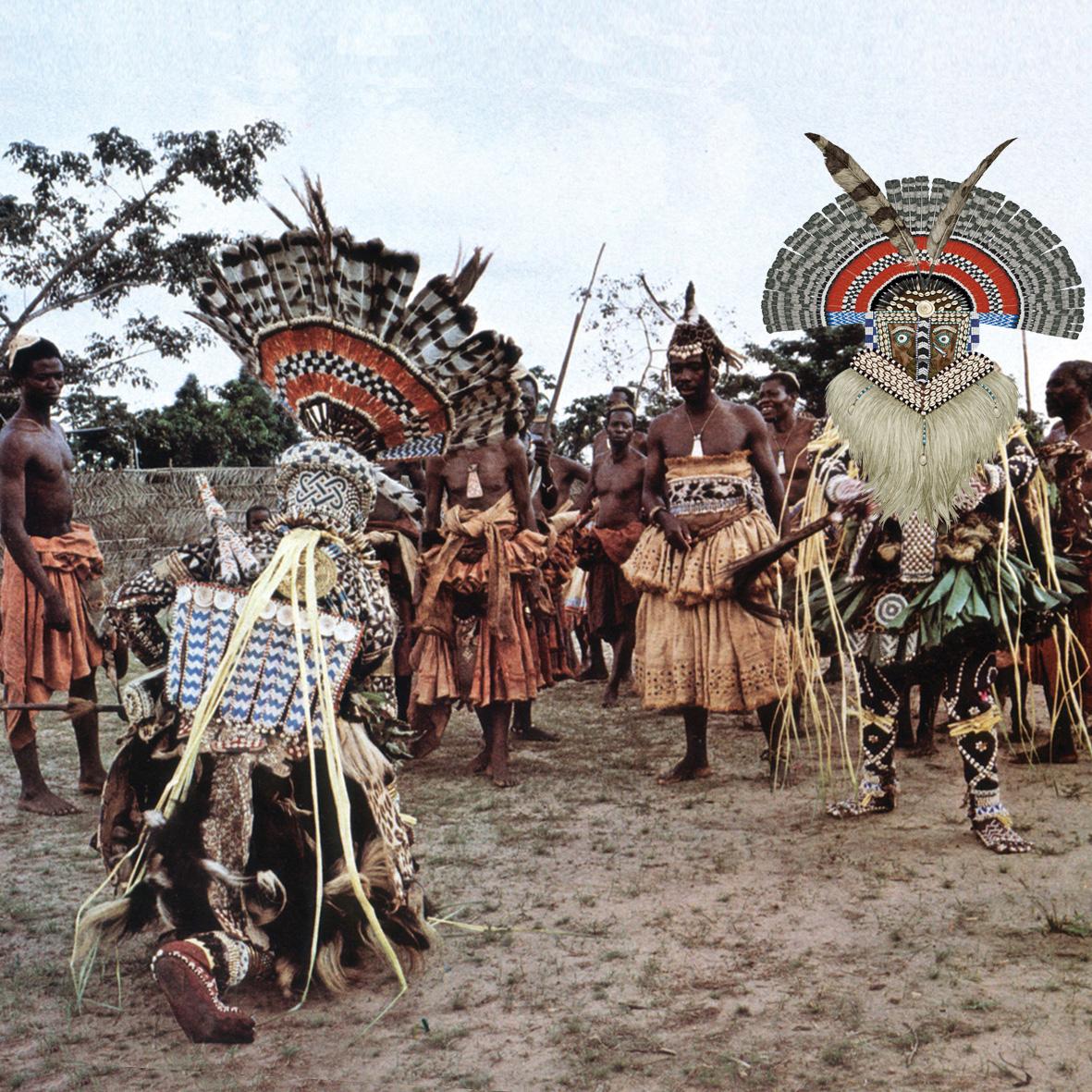 rituales , Congo, mascaras
