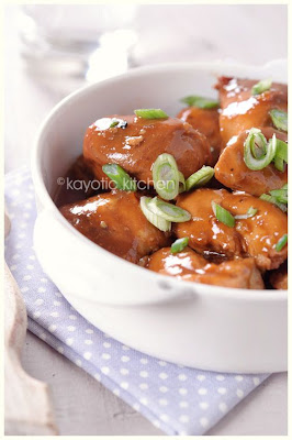 Slow Cooker Chicken a l'Orange from Kayotic Kitchen found on SlowCookerFromScratch.com