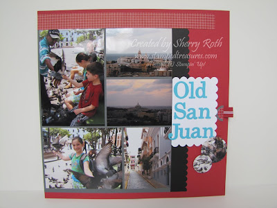 Simple Scrapbook Layout