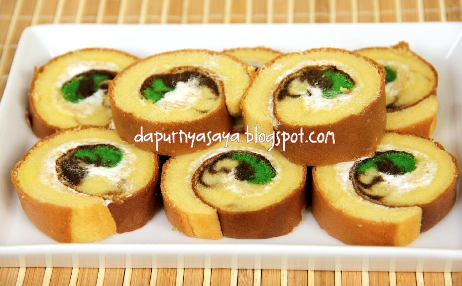 ... ASLI berGARANSI (Mixer Roti/Pao/Pizza, Cake dan Kue): Bolu Gulung