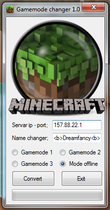 minecraft 1.7.9 gamemode hilesi