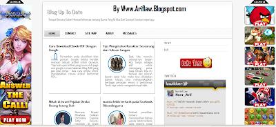Cara Memasang Iklan Melayang di Sebelah Kanan dan Kiri Blog
