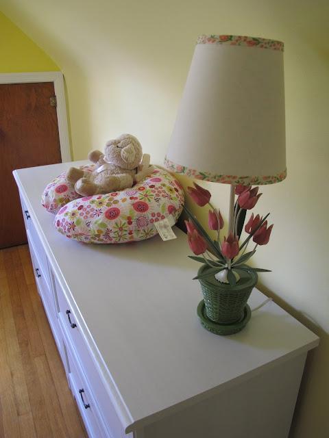 Stella's Land of Nod Tulip Lamp