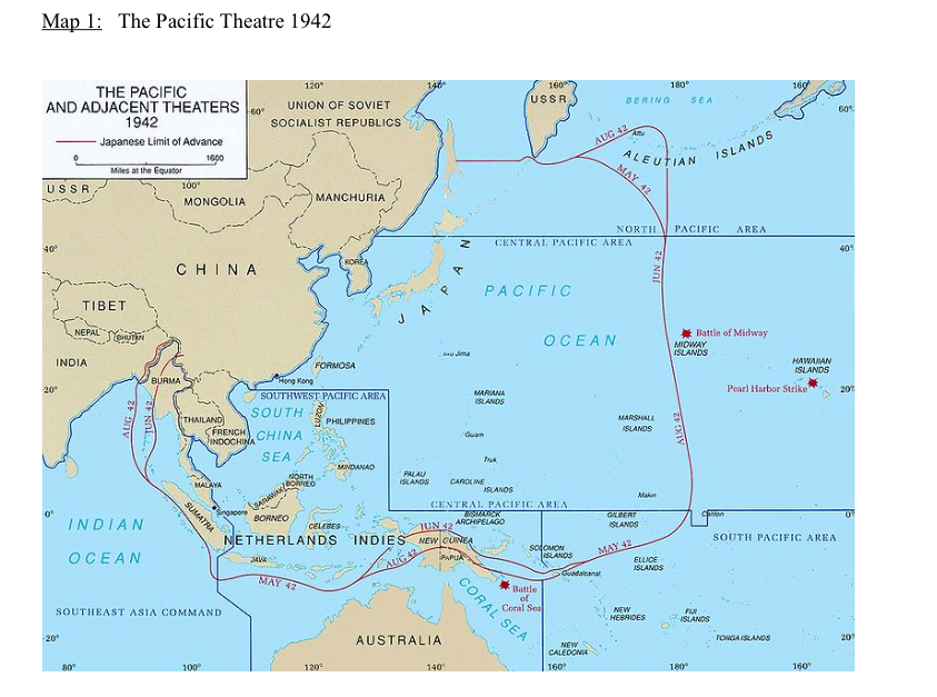 APUSH: WWII Map Activity