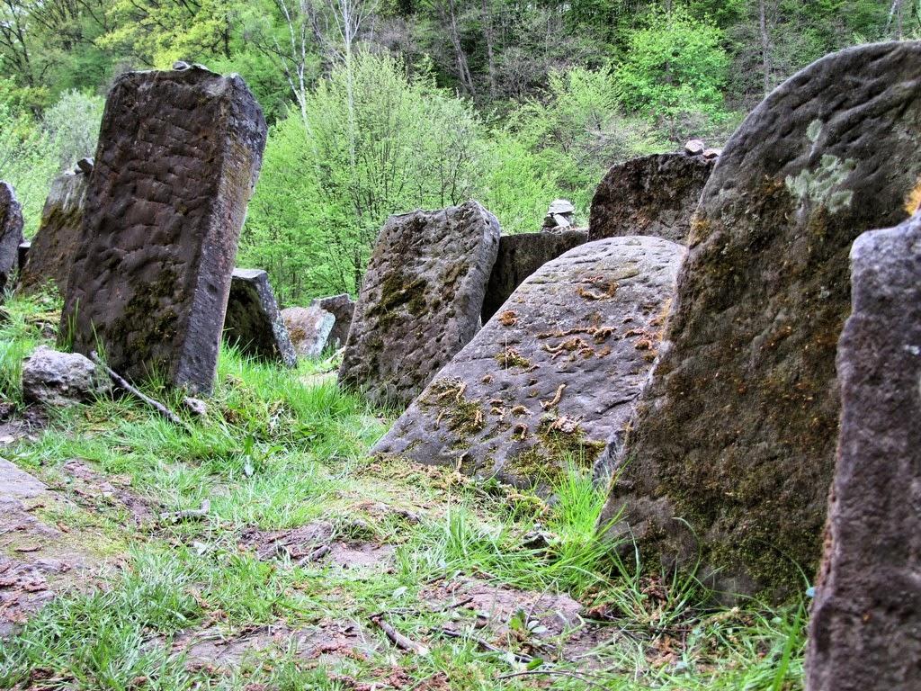 Fragment cmentarza żydowskiego w Kazimierzu