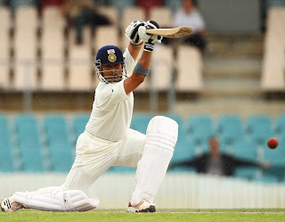 sachin tendulkar shot-sachin displays how to play cover drive perfectly
