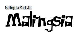 Download Kumpulan Font Khas Indonesia Gratis