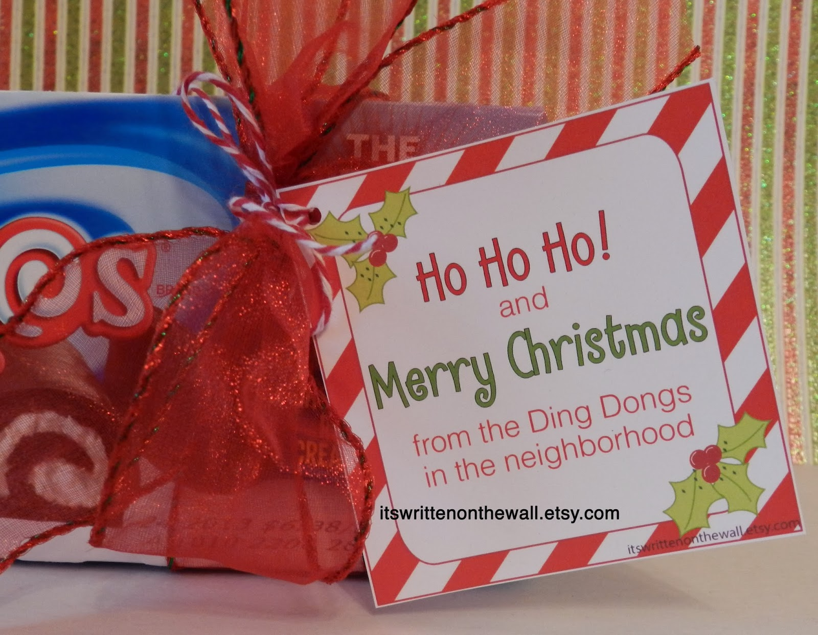 Cute Christmas Gift For Friends Co Workers Neighbors Or