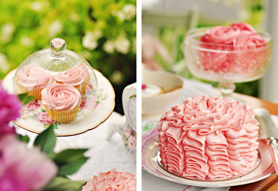 082 Picture Perfect Tea Party | Pretty Pink and Vintage Cups
