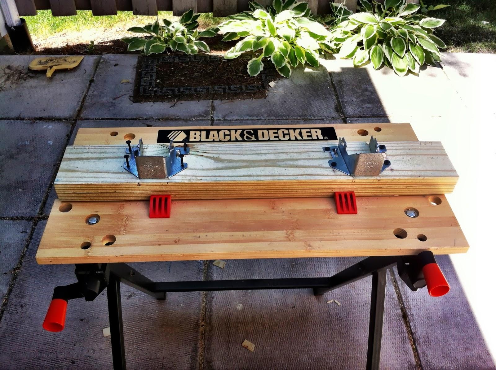 how to build i beam sawhorse
