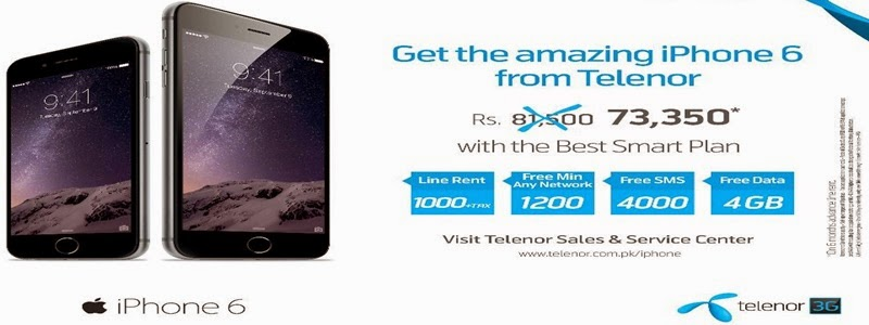 Telenor Starts Selling IPhone 6 At Lowest Rate In Pakistan