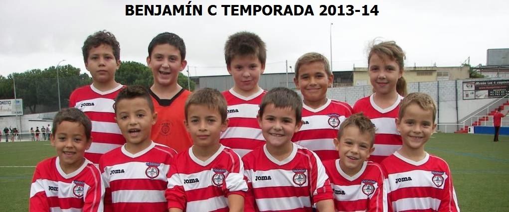 BENJAMÍN C. C.D.CAN PARELLADA 2013-14