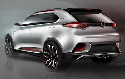 MG CS Concept (2013 Rendering) Rear Side