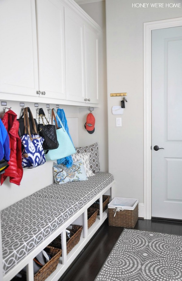 Honey we 39 re home top 10 organizing challenge mudroom for Best cleaning products for kitchen cabinets