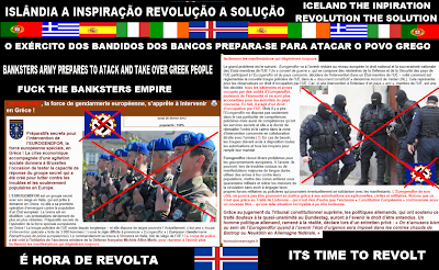 Eurogedenfor Prepara-se para Intervir na Grécia; Atacar; Povo Grego; SS; NAZI; Exército; Army; Cães; NAZI; SS