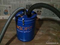 Separador de partículas para conectar al aspirador, enredandonogaraxe