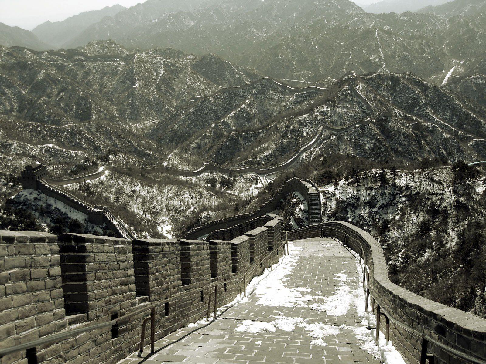 Great wall of china photographs world 7 wonders for A grande muralha da china