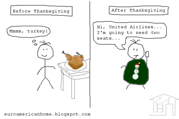 thanksgiving stuffing stick figures