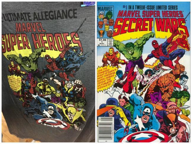 Merchandise Marvel