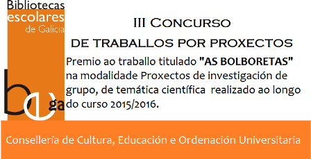Premio III Concurso de Traballos por Proxectos