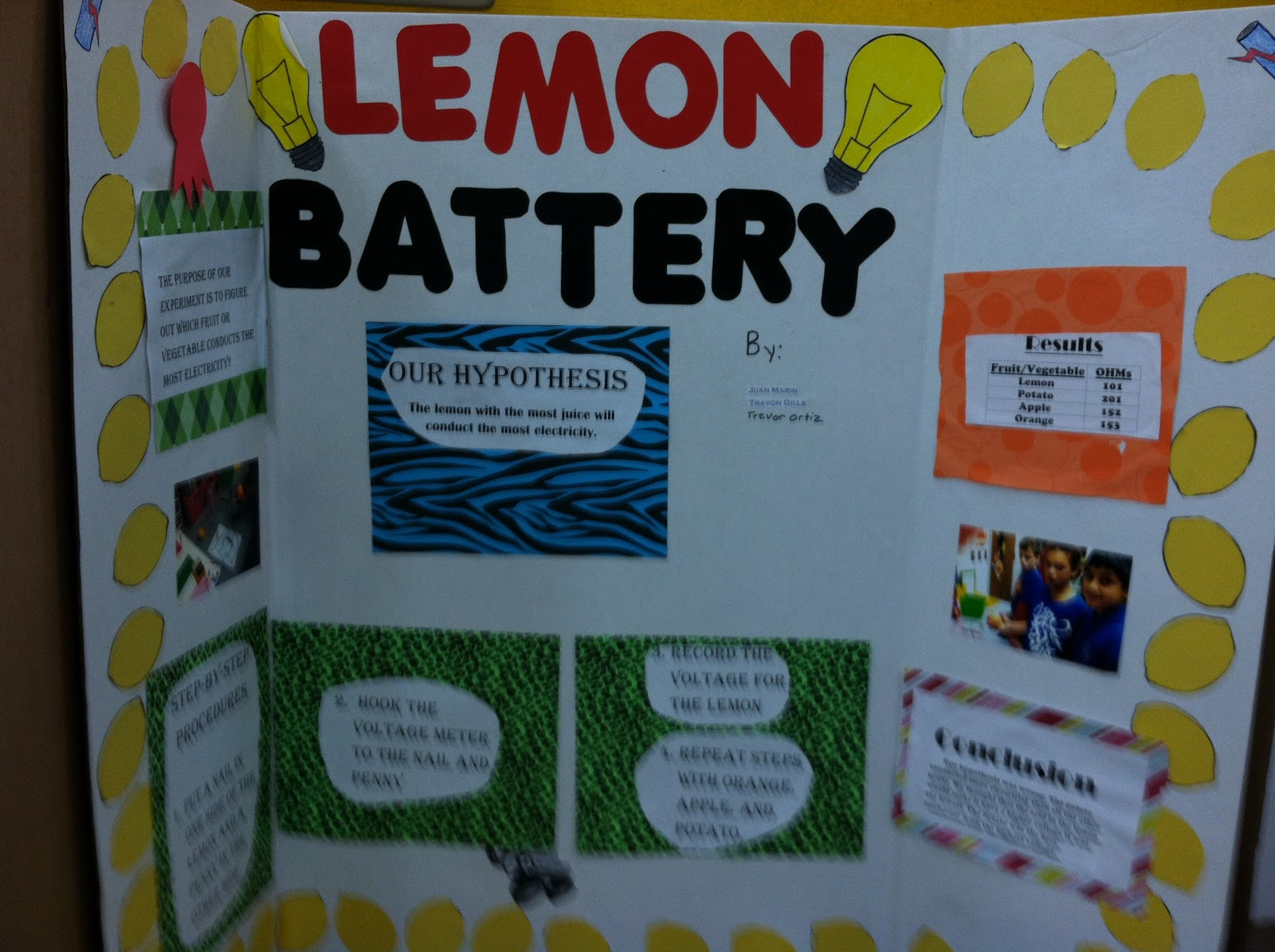 easy science fair projects for 4th graders