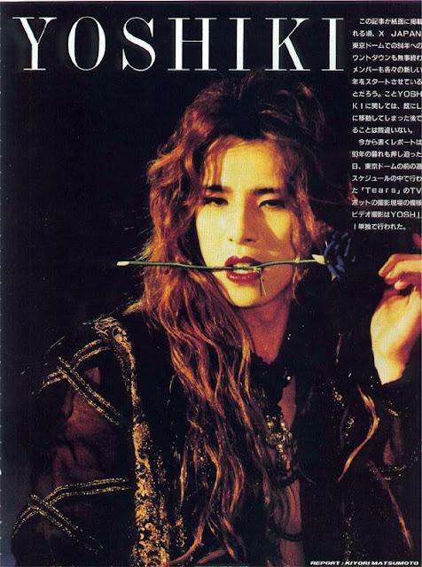 Long Hairstyles✿Yoshiki X Japan