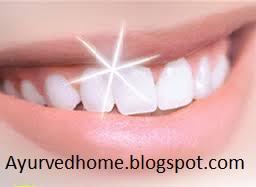 दाँतों को साफ़ रखने के उपाए